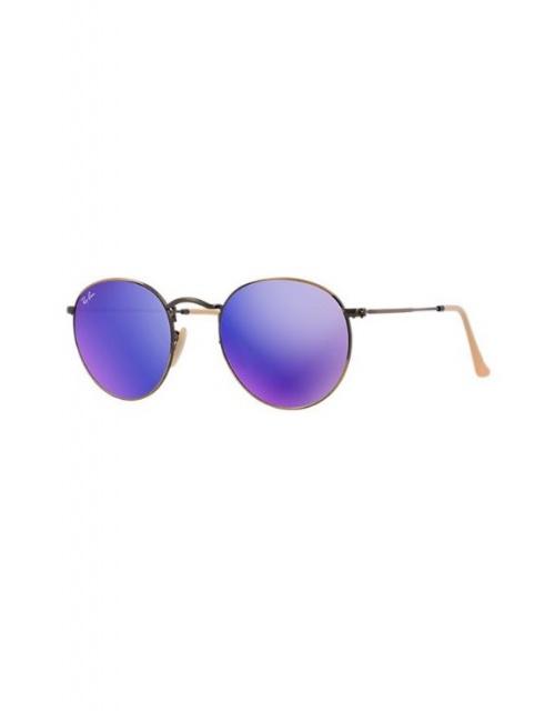 Ray Ban - lunettes de soleil miroir violettes