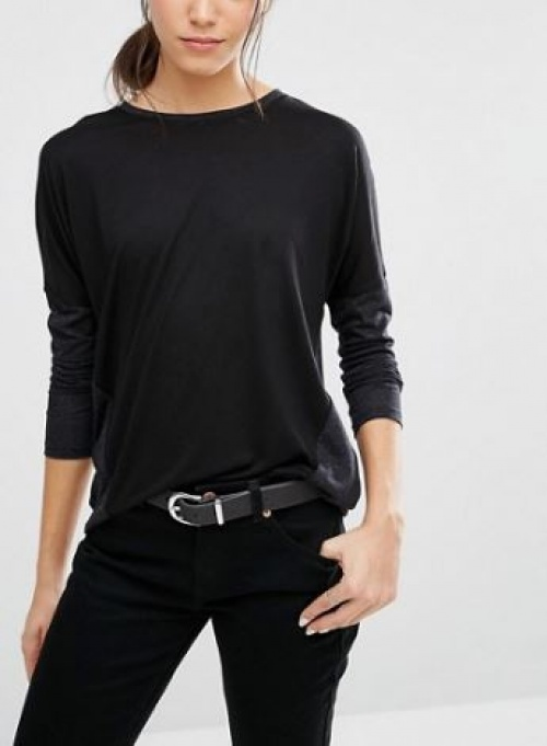 Asos - t-shirt manches longues en lin