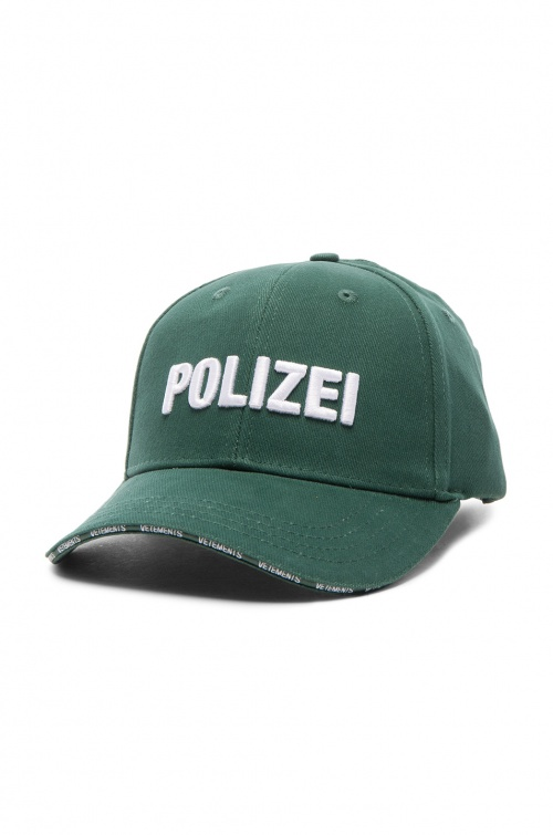 Vetements - casquette Polizei