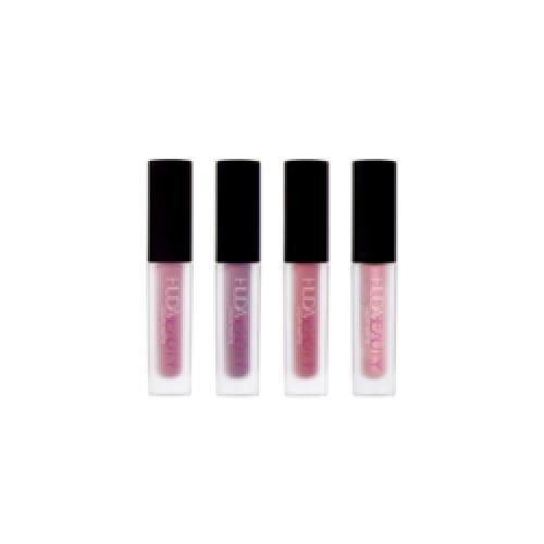 Huda Beauty - Kit de 4 mini rouges à lèvres