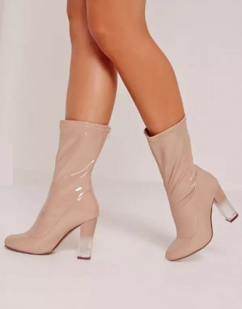 Missguided - boots vinyle