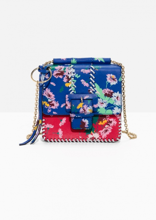 Floral Buckle Mini Bag