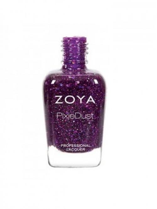 Zoya - vernis pailleté violet
