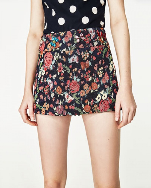 Zara - Jupe-short