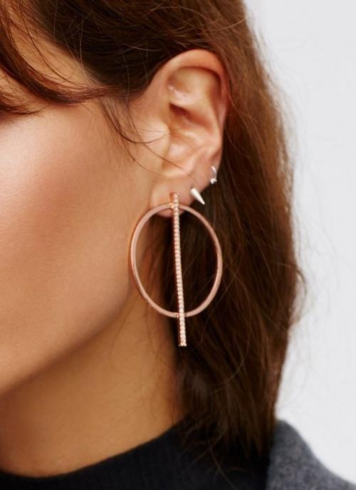 Free People - boucles d'oreilles style créoles