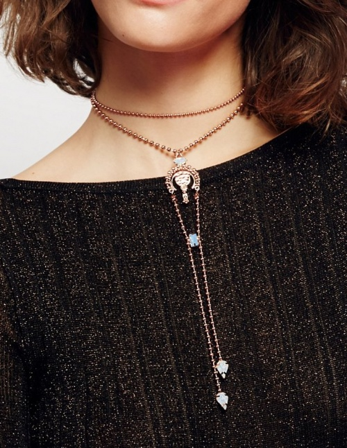 Free People - collier chaînes