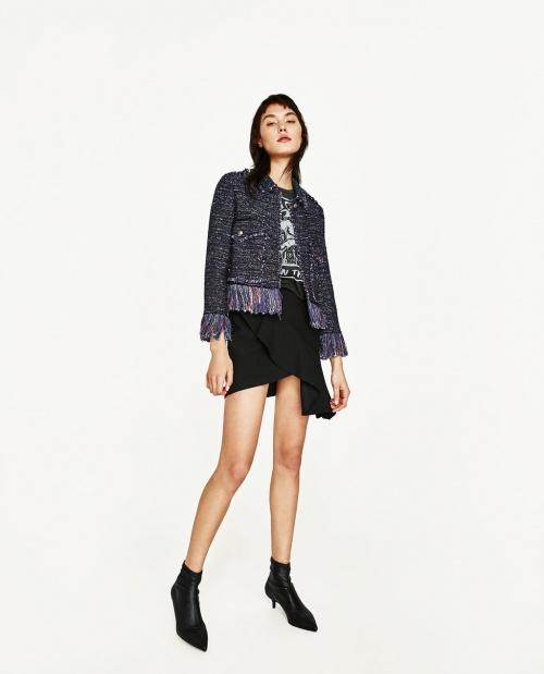 Zara - veste franges
