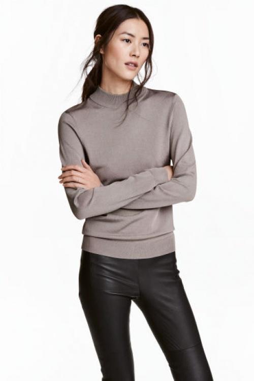 H&M - pull col roulé