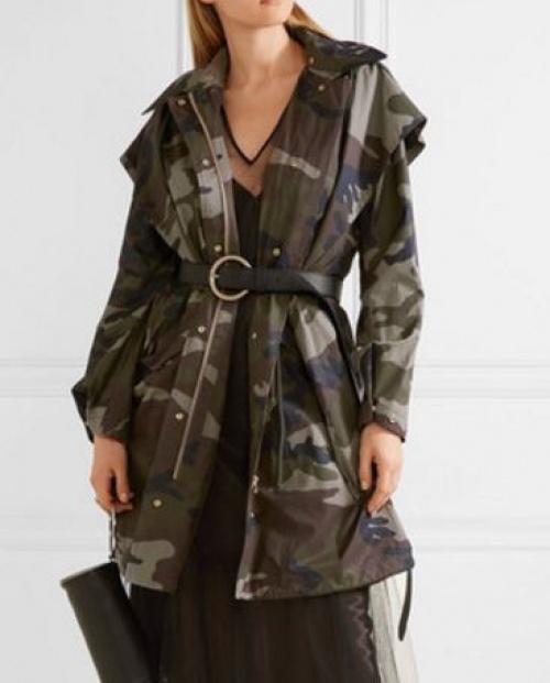 MM6 Maison Margiela - veste camouflage