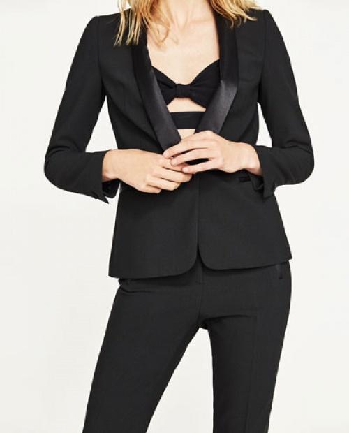Zara - Blazer  noir