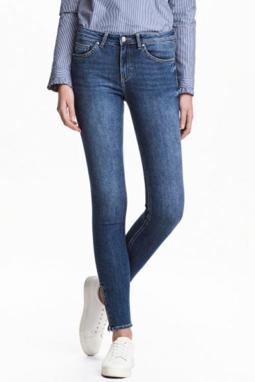 H&M - skinny zippé