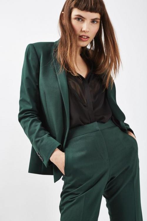 Topshop - Blazer vert