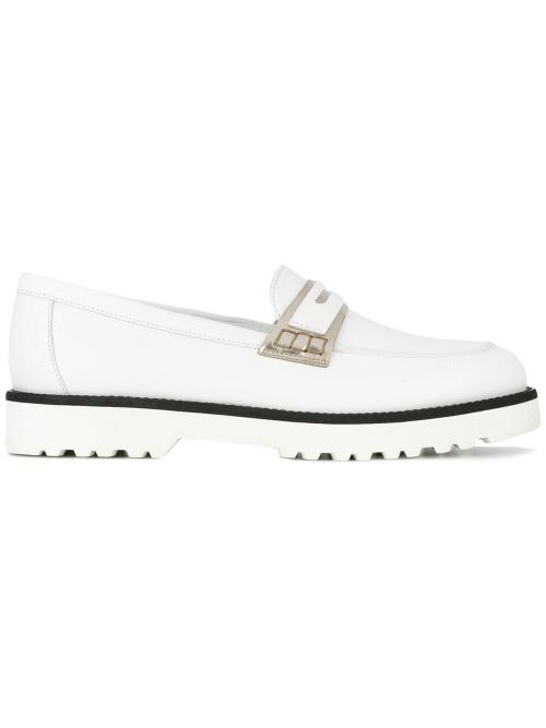 Platform penny loafers