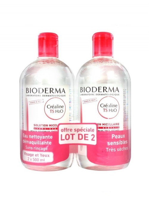 Lot de 2 solution micellaire - Bioderma
