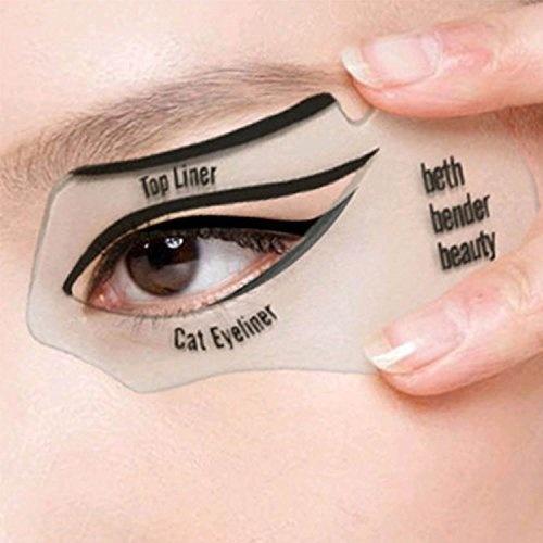 Pochoir pour trait d'eyeliner - Nalati