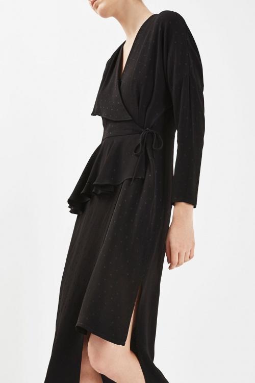 Topshop - robe porte-feuille