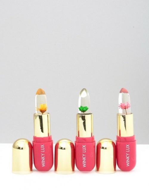 Winky Lux - Lot de 3 baumes à lèvres