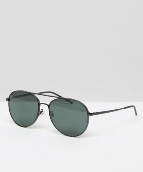 Emporio Armani - lunettes de soleil aviateur