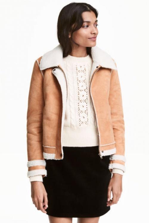 H&M - veste shearling
