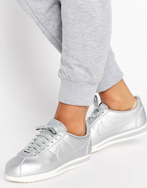 Nike - baskets  argent
