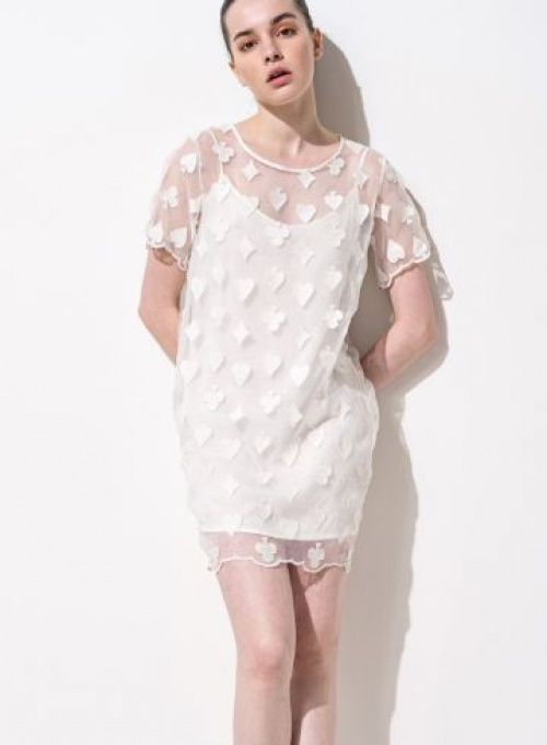 Front Row Shop - robe brodée