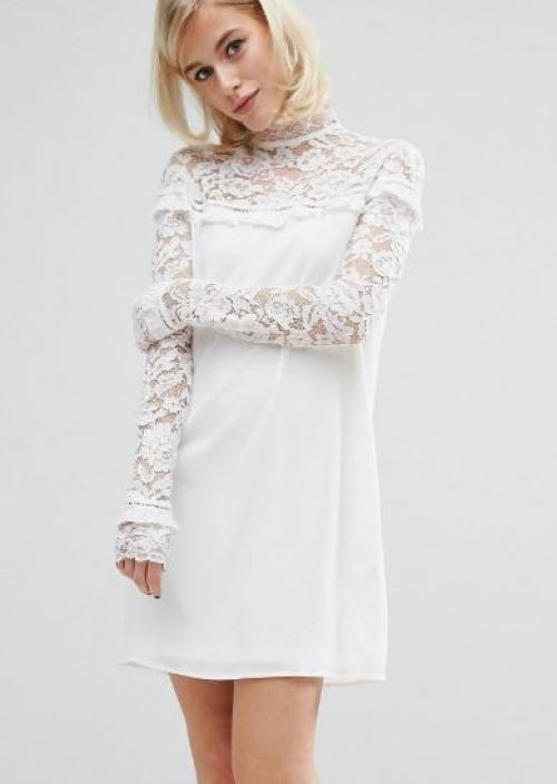 Fashion Union - robe dentelle