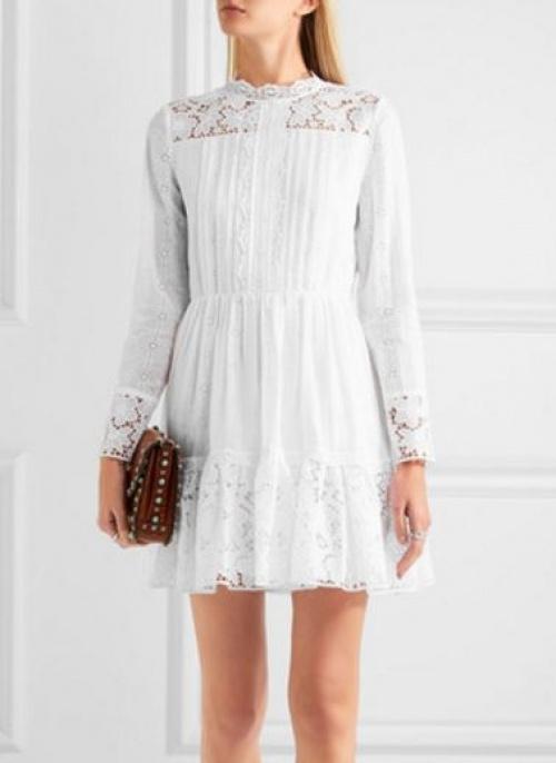 Valentino - robe broderie anglaise