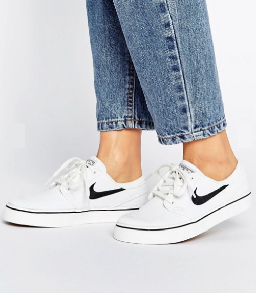 Zoom Janoski - Baskets - Blanc