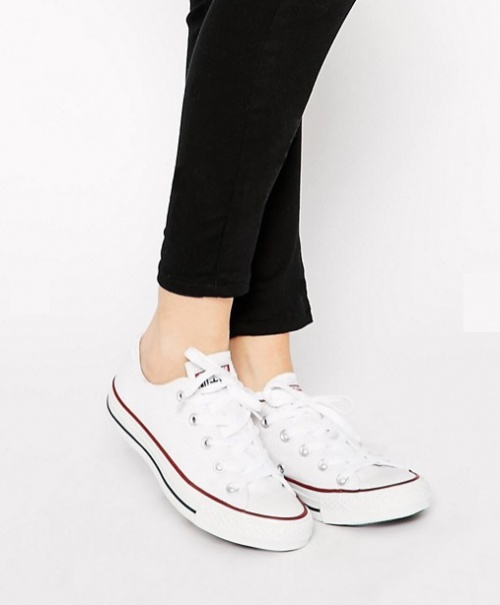 Chuck Taylor All Star Ox - Baskets - Blanc