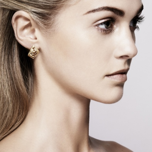 Carnivore Cage Earring