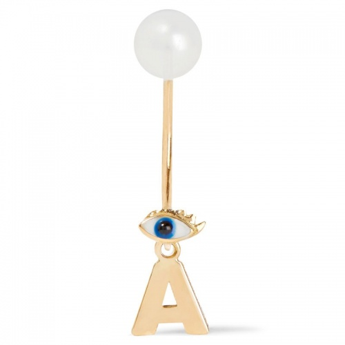 abc micro eye earring