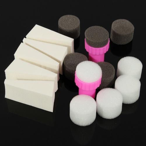 Set de tampons de nail art - Hum