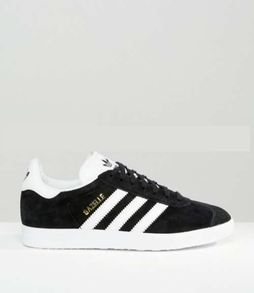 Adidas Originals - Gazelle - Baskets unisexe en daim - Noir