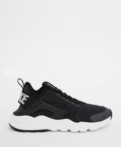 Nike - Air Huarache Ultra - Baskets - Noir et blanc