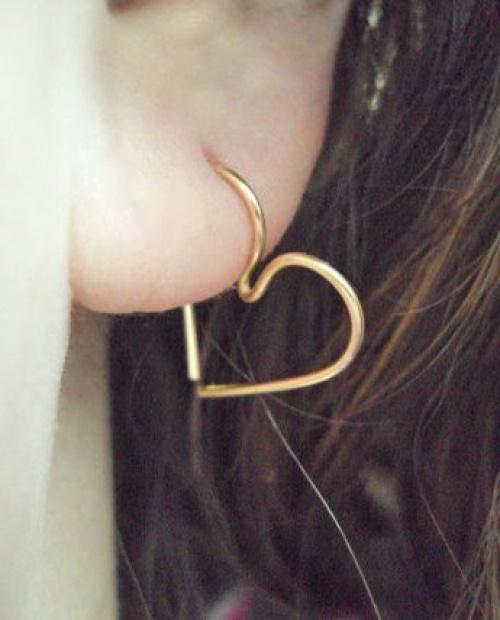 My Adorable Accessory - piercing coeur