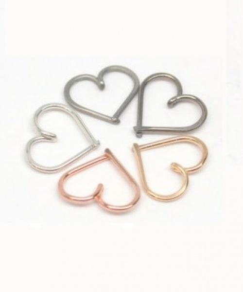 Wirewrap - piercing coeur