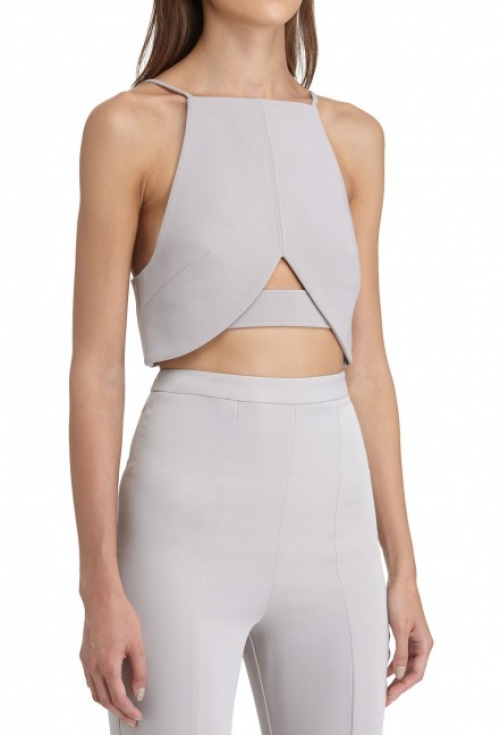 SKYLAR BACKLESS CROP TOP