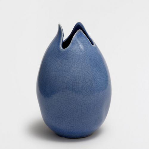 Zara Home - Vase bleu céramique