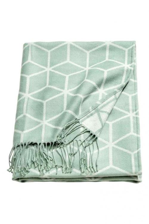 H&M Home - Plaid motifs géométriques