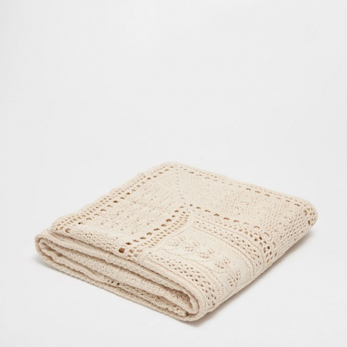 Zara Home - Plaid crochet