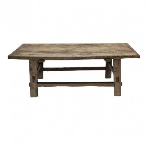 Fleux - Table basse bois brut