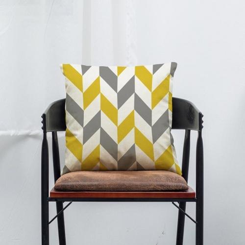 Mallom - Housse de coussin motifs géométriques