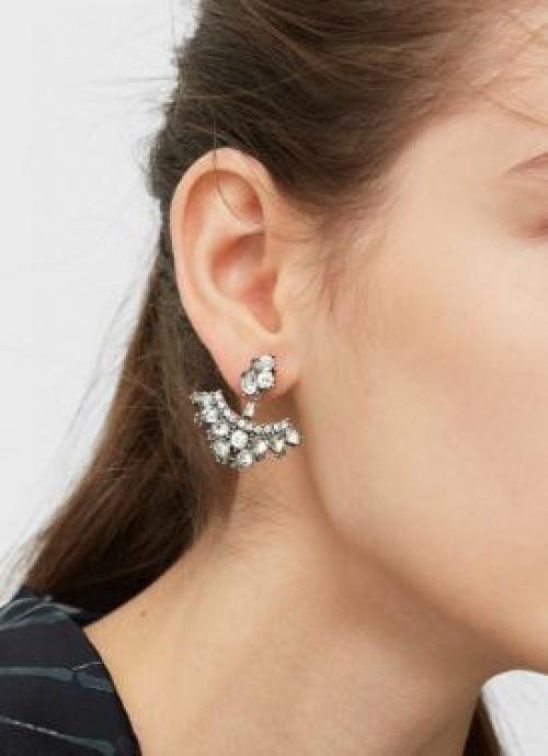 Mango - Dessous d'oreilles cristaux