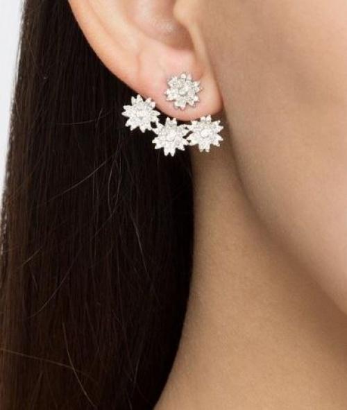 Yvonne Léon - Dessous d'oreilles diamants