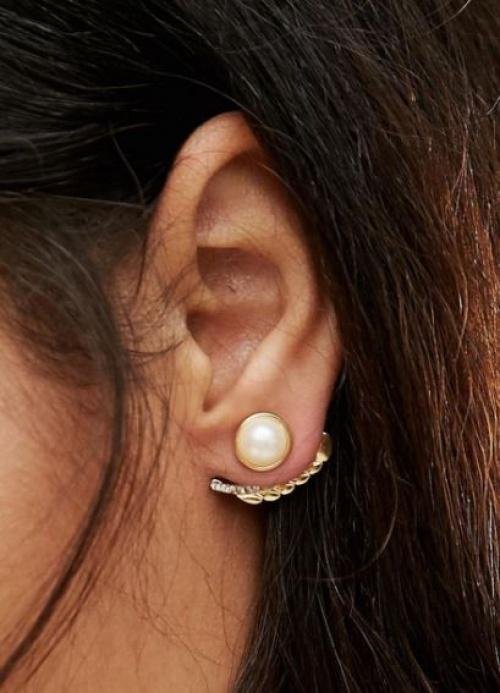 DesignB - Dessous d'oreilles perle