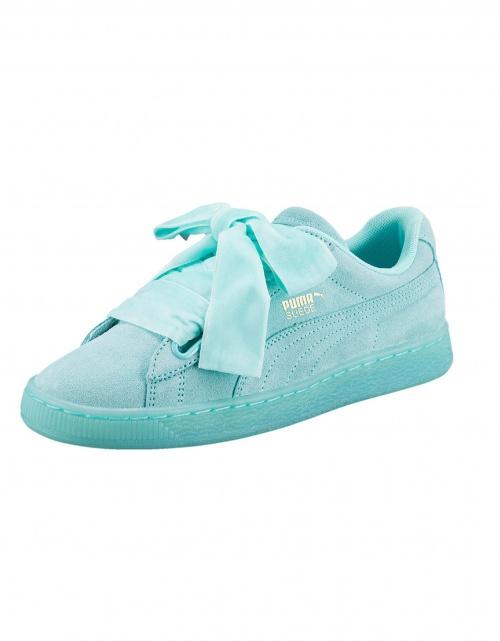 Puma - Sneakers vert d'eau