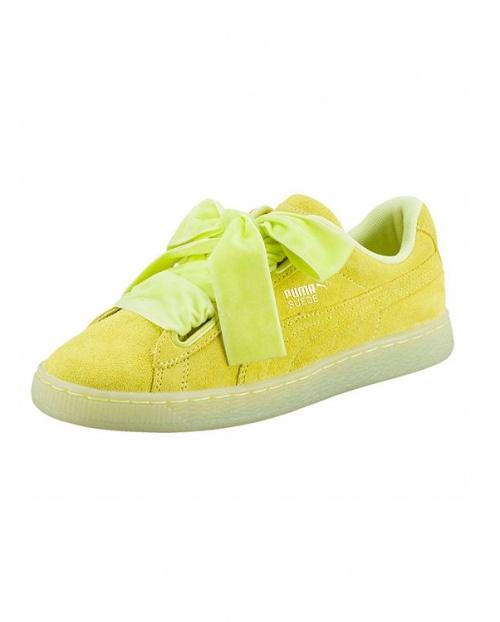 Puma - Sneakers vert anis