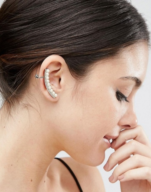 ASOS - Bijou d'oreille à perles fantaisie