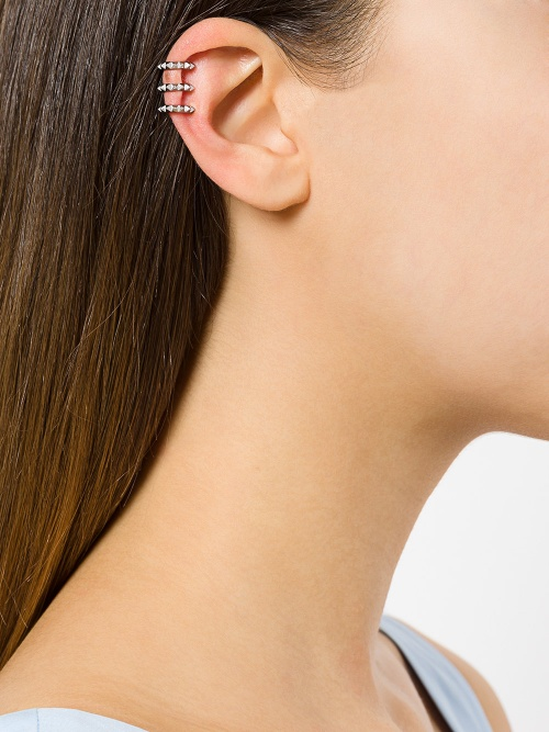 KASUN LONDON  Triple Croc earcuff