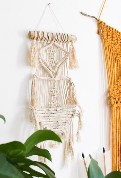 Gypsy Mama Store - Macramé bois flotté